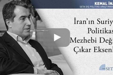 İran'ın Suriye Politikası Mezhebi Değil Çıkar Eksenli