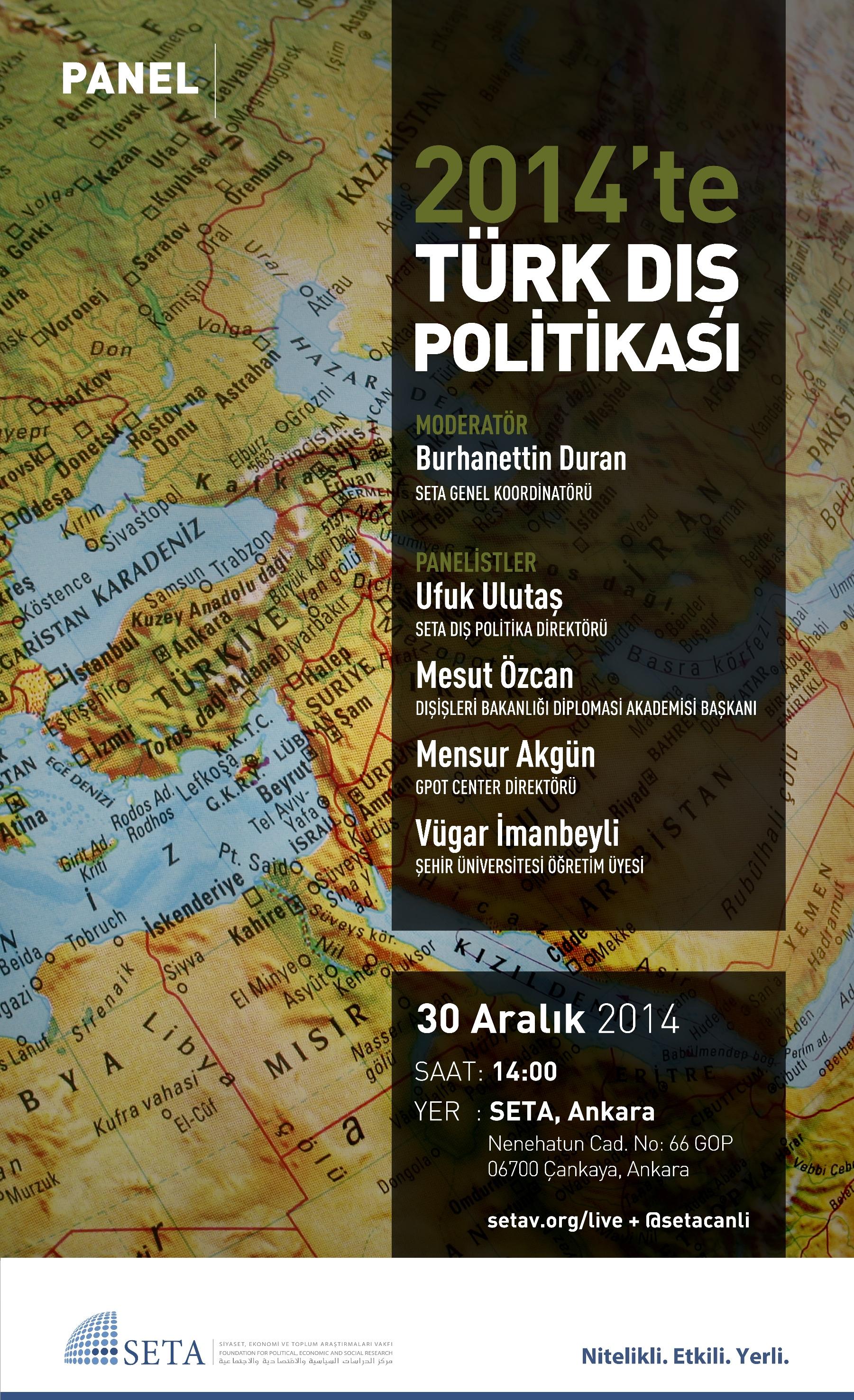 2014'te Türk Dış Politikası
