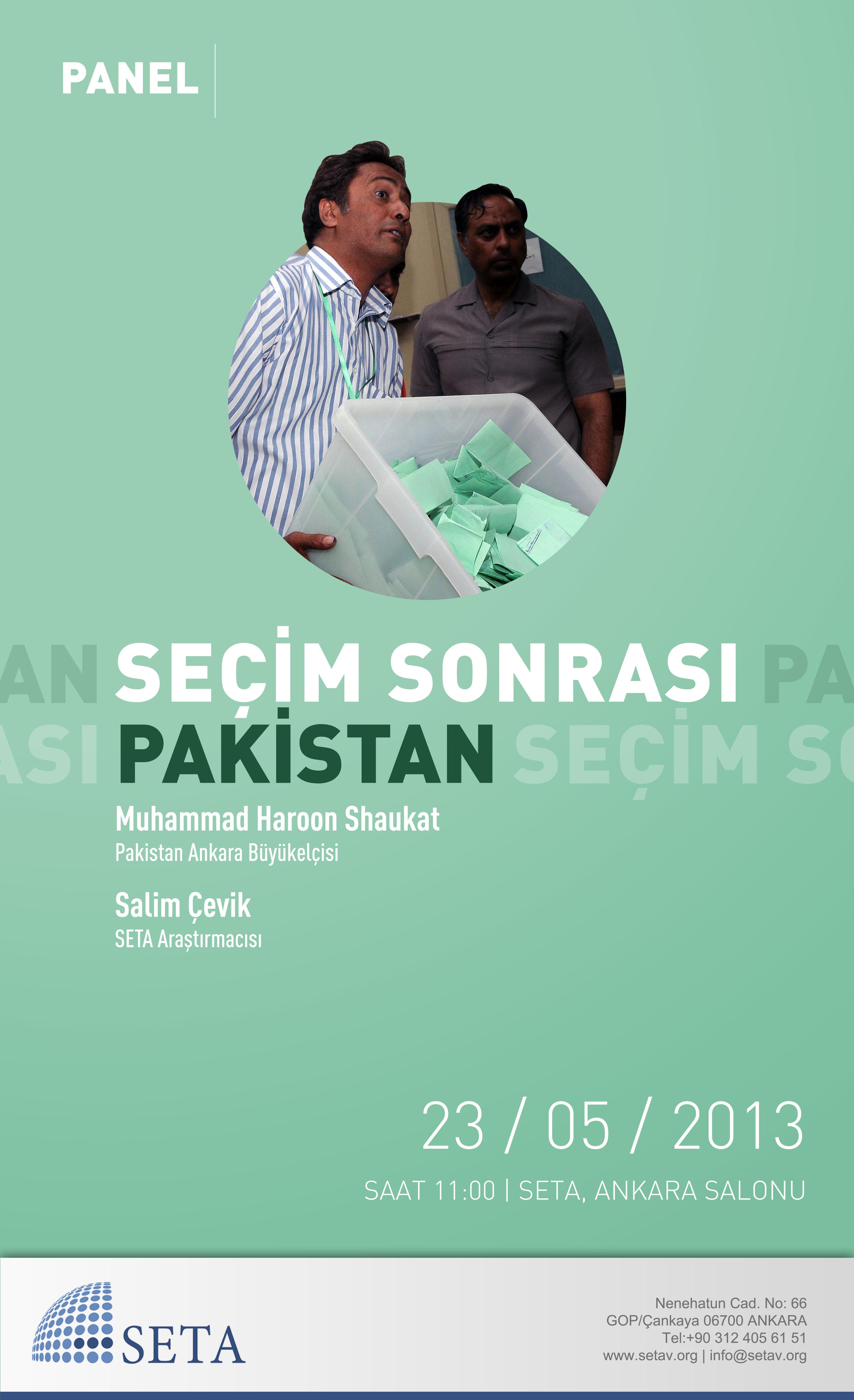 Seçim Sonrası Pakistan