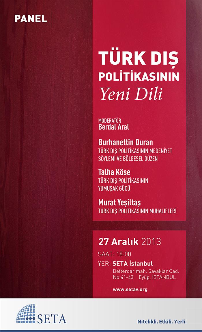 Türk Dış Politikasının Yeni Dili