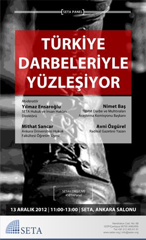 Türkiye Darbeleriyle Yüzleşiyor