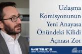 Uzlaşma Komisyonunun Yeni Anayasa Önündeki Kilidi Açması Zor