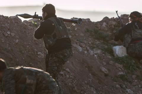 MIDEAST-CRISIS/SYRIA-NORTHEAST
