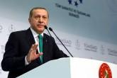 Cumhurbaşkanı Recep Tayyip Erdoğan, Tüm Sanayici İş Adamları Derneğince (TÜMSİAD) Lütfi Kırdar Kongre Merkezinde düzenlenen iftara katılarak konuşma yaptı. ( Kayhan Özer - Anadolu Ajansı )