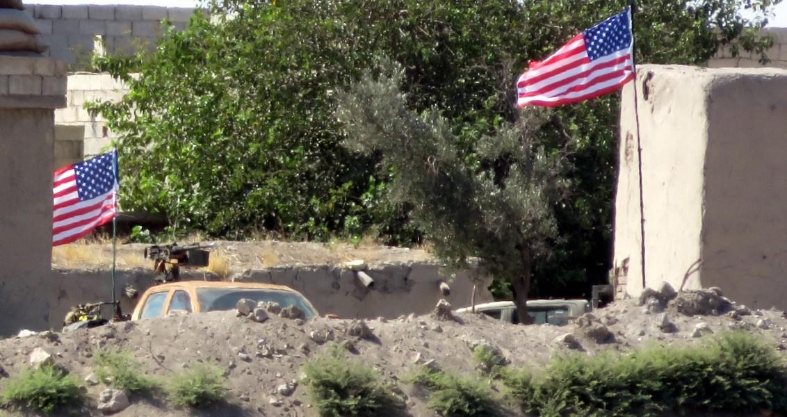 Suriye'de ABD - PKK Üssü