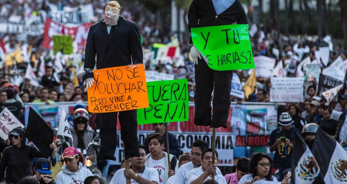 Meksika'da Huzursuzluk