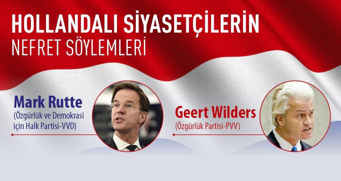 Hollandalı Siyasetçilerin Nefret Söylemleri