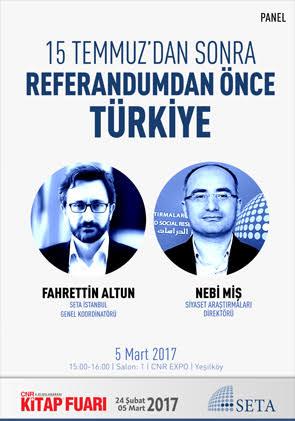 15 Temmuz'dan Sonra Referandumdan Önce Türkiye