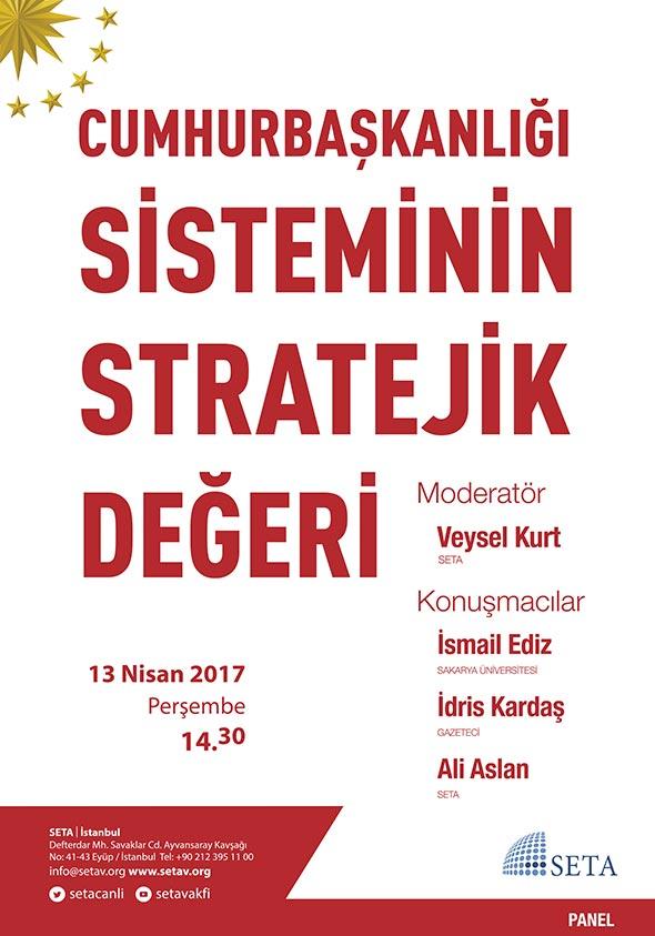 Cumhurbaşkanlığı Sisteminin Stratejik Değeri