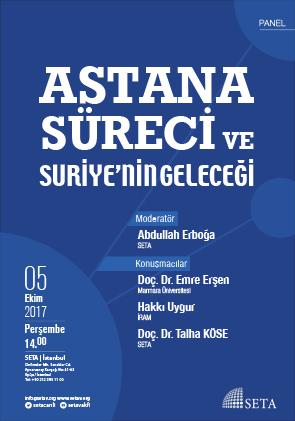 Astana Süreci ve Suriye'nin Geleceği