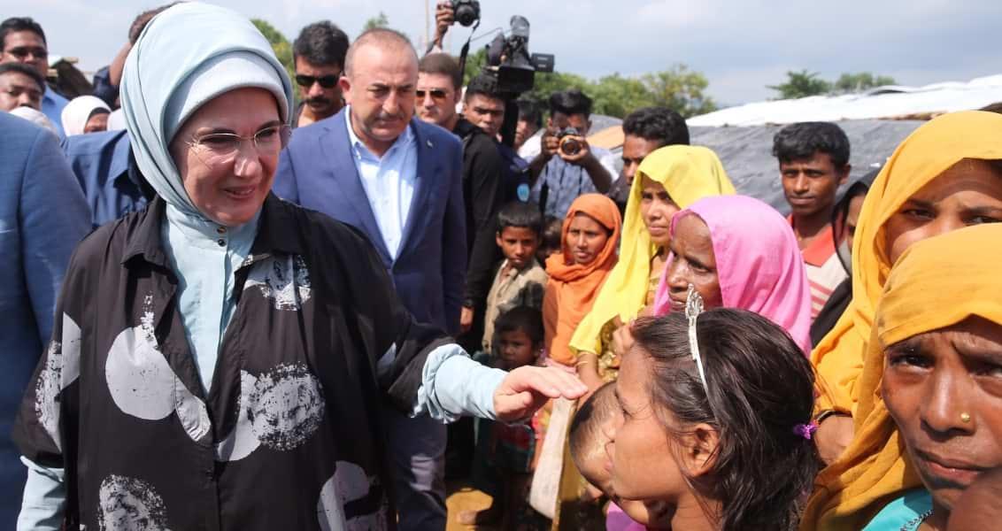 Türkiye nin Yardım Eli Arakan a da Uzandı