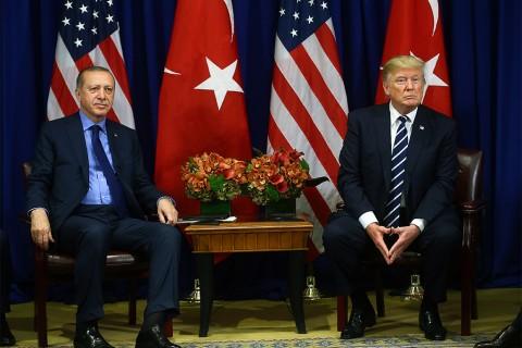 Recep Tayyip Erdoğan - Donald Trump görüşmesi