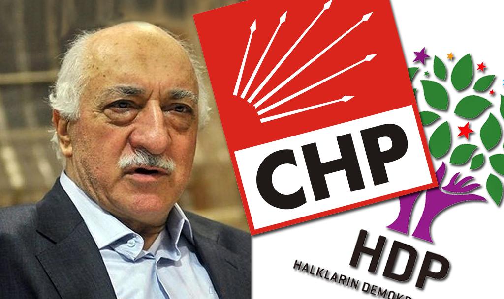 FETÖ - CHP - HDP İttifakı