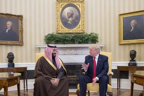 Suud Veliahtı ve Trump