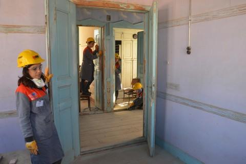 Üniversite Öğrencileri Restorasyon Çalışmalarında