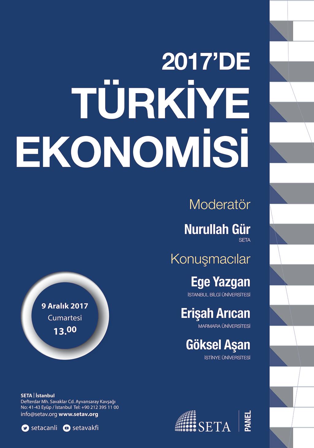 Panel: 2017'de Türkiye Ekonomisi