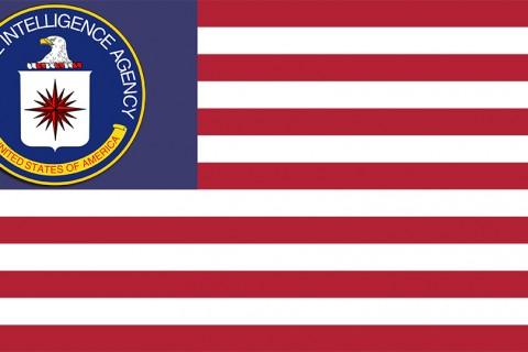 American CIA Flag