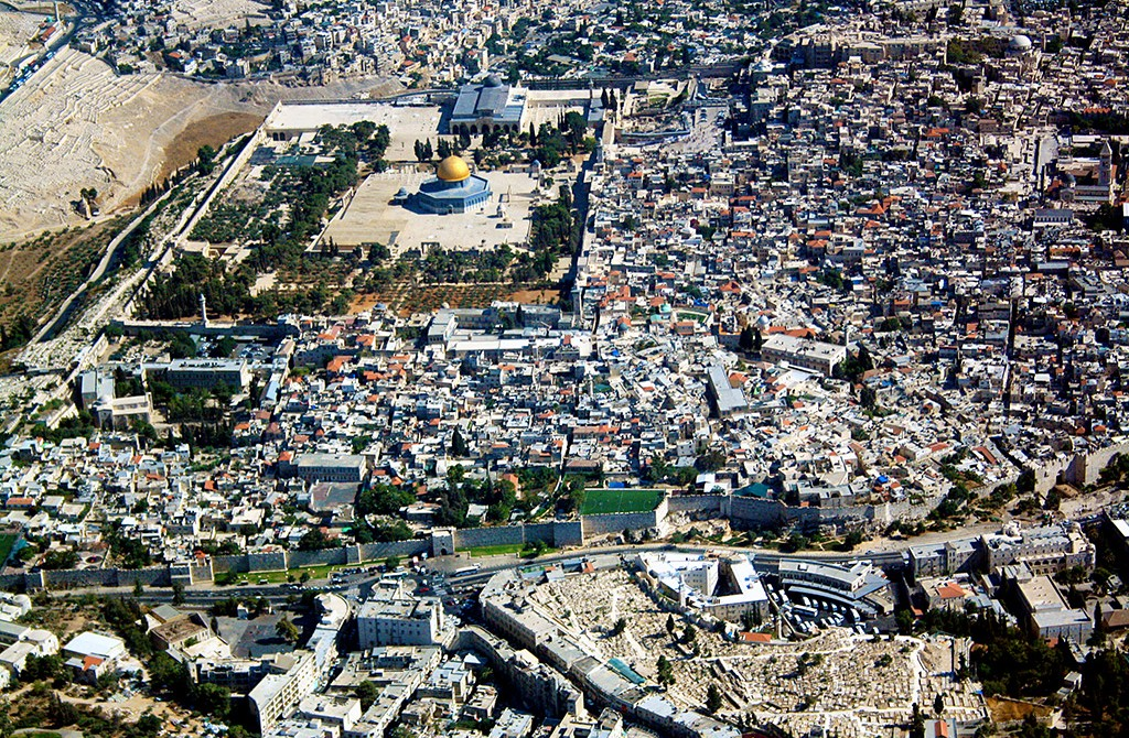 Kudüs - Hava Fotoğrafı
