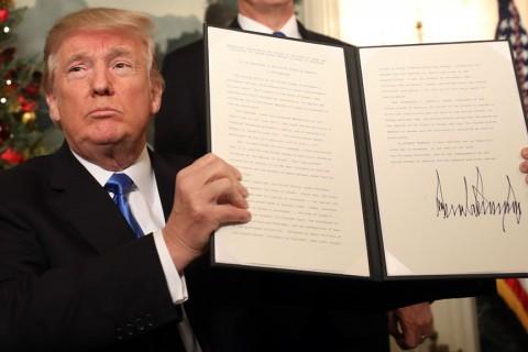donald Trump'ın Kudüs İsrail'in Başkentidir Kararı