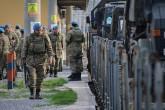 Afrin'e yola çıkan askeri konvoy
