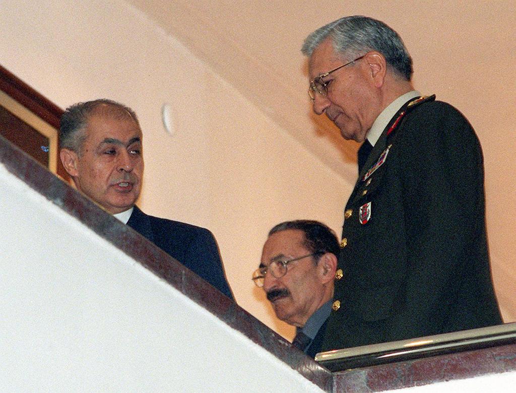 Ahmet Necdet Sezer - Bülent Ecevit - Genel Kurmay Başkanı Hüseyin Kıvrıkoğlu