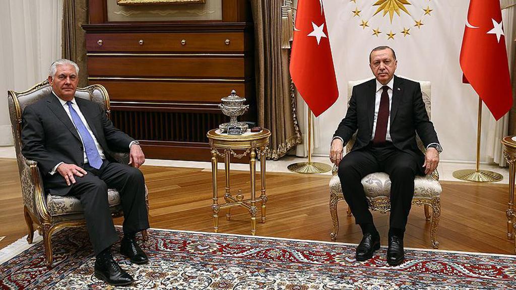 Tillerson - Erdoğan