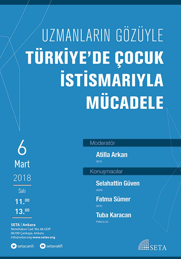 Panel: Türkiye'de Çocuk İstismarı ile Mücadele