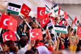 Türk Bayrağı - Suriyeli Çocuklar