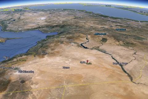 Suriye Uydu Görüntüsü