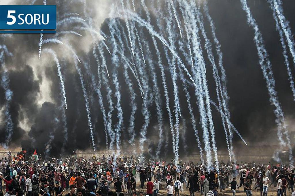 5 Soru: Gazze ve Kudüs'teki Son Olaylar