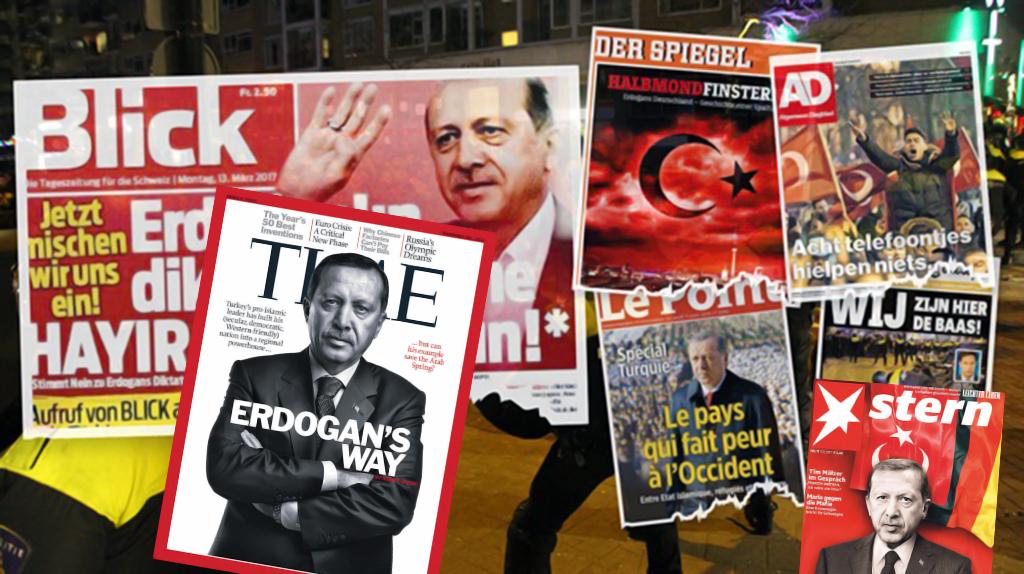 Erdoğan ve Türkiye Karşıtı Batı Medyası