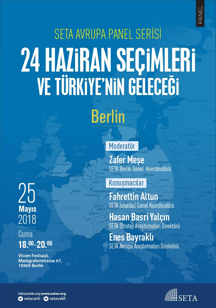 Panel: 24 Haziran Seçimleri ve Türkiye'nin Geleceği