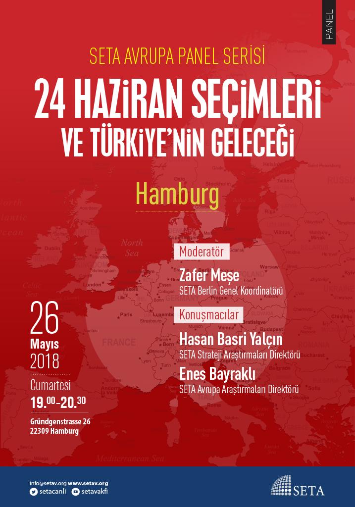 Panel: Hamburg | 24 Haziran Seçimleri ve Türkiye'nin Geleceği