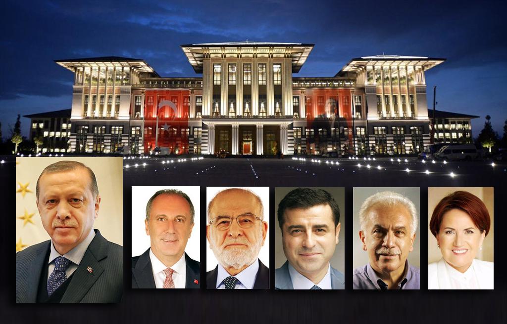 24 Haziran 2018 Erken Seçimleri Cumhurbaşkanı Adayları