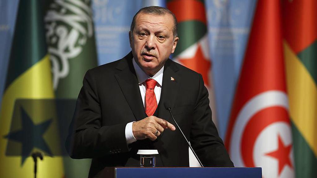 İslam İşbirliği Teşkilatı dönem Başkanı Recep Tayyip Erdoğan