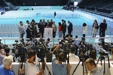 """AK Parti Genel Başkan Yardımcısı ve Parti Sözcüsü Ünal, """"Seçim beyannamemizde 146 büyük proje sunacağız."""" dedi."""