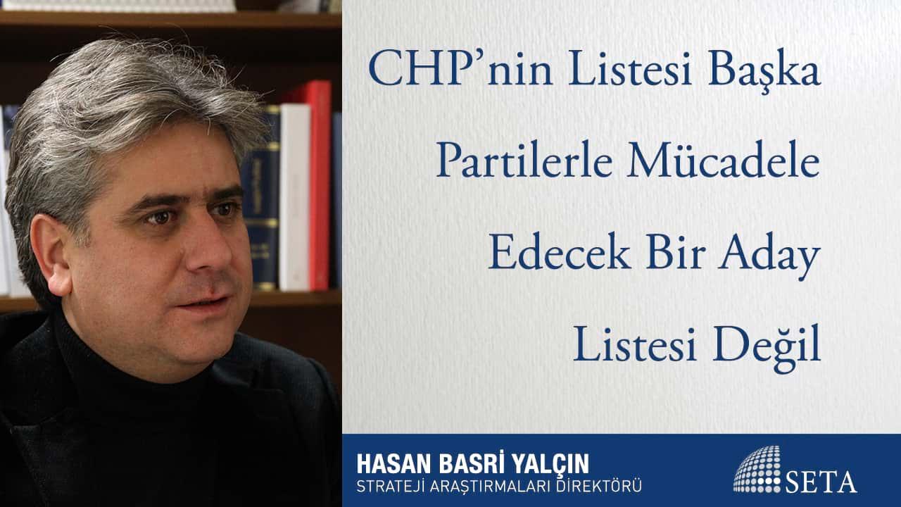 Cumhurbaşkanlığı Seçimini Kaybederse İnce'nin CHP İçinde Siyaset Yapması Pek Mümkün Değil