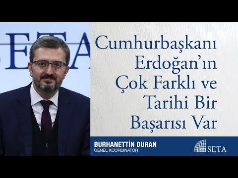 Cumhurbaşkanı Erdoğan'ın Çok Farklı ve Tarihi Bir Başarısı Var
