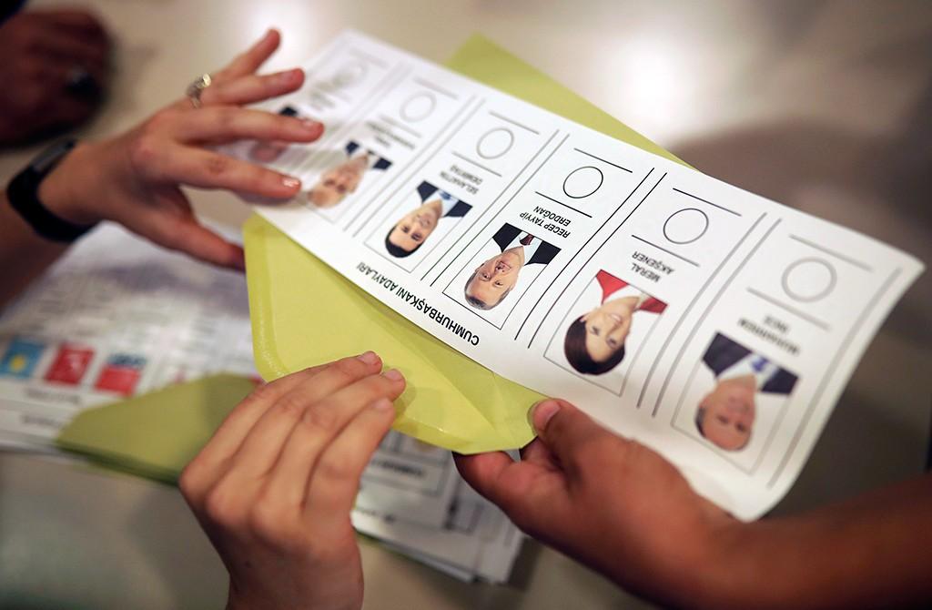 24 Haziran 2018 Cumhurbaşkanı Seçimi Oy Pusulası
