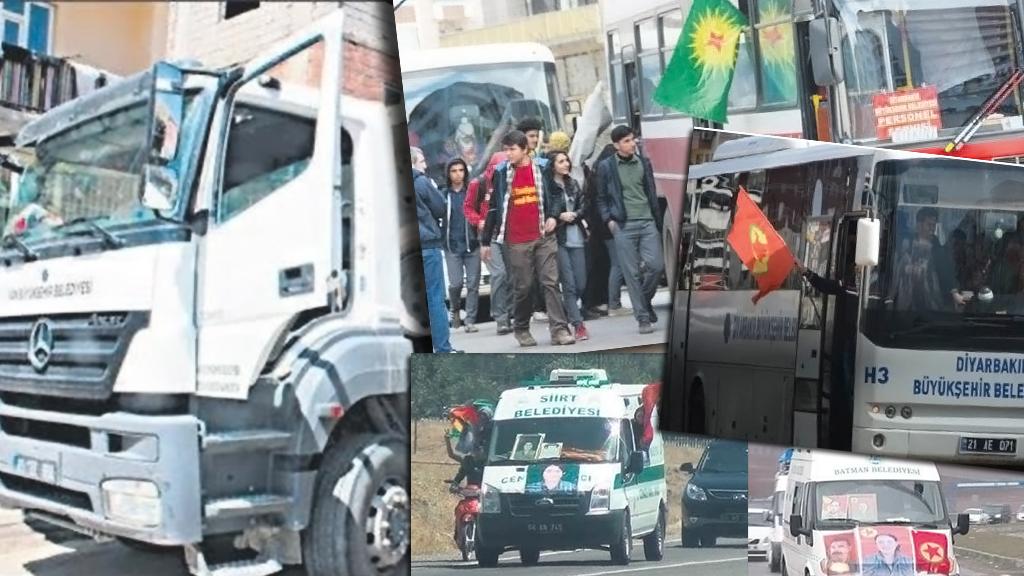 Rapor Kayyum Atanan Belediyelerin PKK Terörü ile Mücadeledeki Rolü