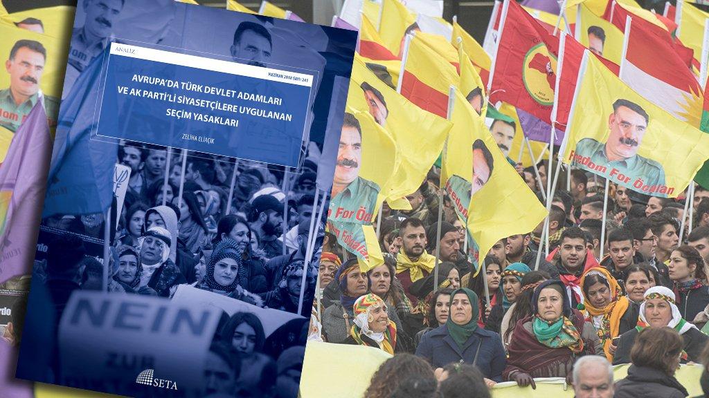 """SETA'dan """"Avrupa'da Türk Devlet Adamlarına Yönelik Seçim Yasakları"""" Analizi Yayımlandı"""