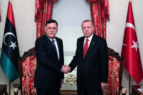 سياسة تركيا في ليبيا