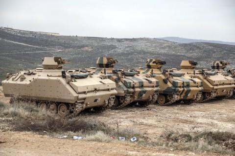 في 12 فبراير 2020 أرسلت القوات المسلحة التركية تعزيزات من قوات الصاعقة لنقاط المراقبة في إدلب
