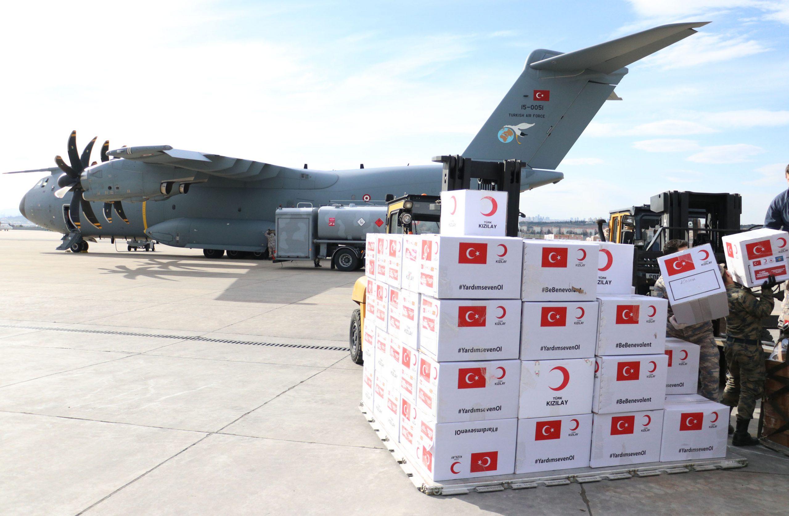 """بين المساعدات الصينية والتضامن التركي مع منكوبي """"كورونا"""