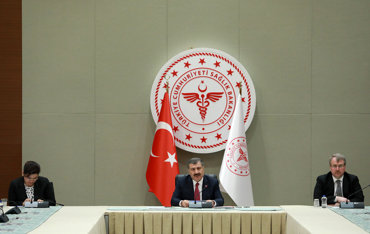 استراتيجية تركيا في مكافحة فيروس كورونا