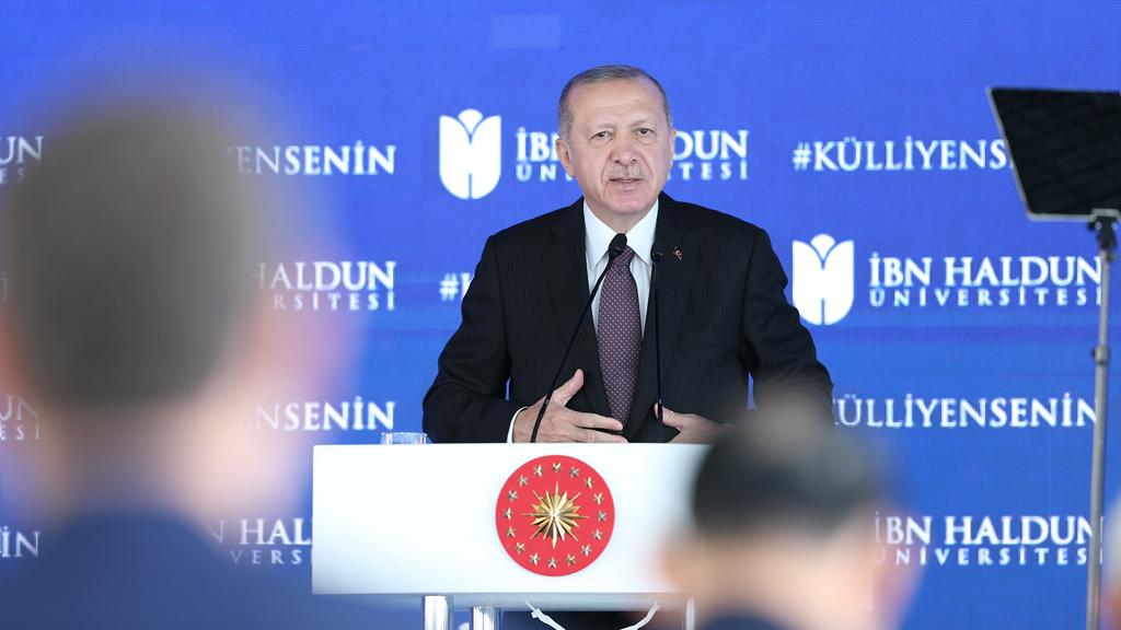 نقد أردوغان للتحديث التركي في جامعة بن خلدون