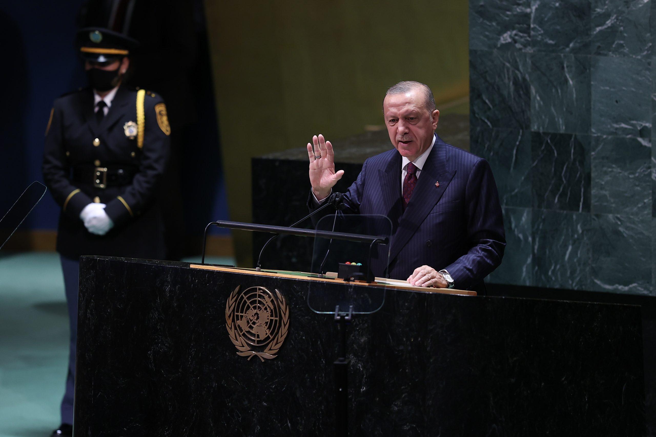 خطاب أردوغان في الأمم المتحدة: من الممكن إنشاء عالم أعدل