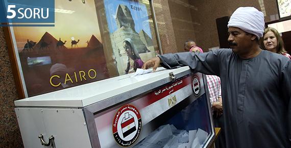 5 SORU: Mısır Cumhurbaşkanlığı Seçimleri