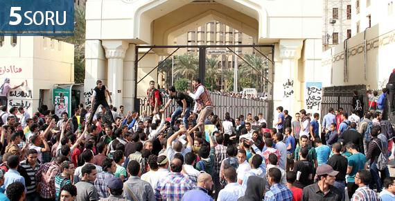 5 Soru: Mısır'da Darbe Karşıtı Gençlik İsyanı