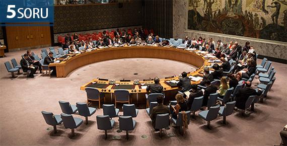 5 Soru: Türkiye'nin BM Güvenlik Konseyi Adaylığı